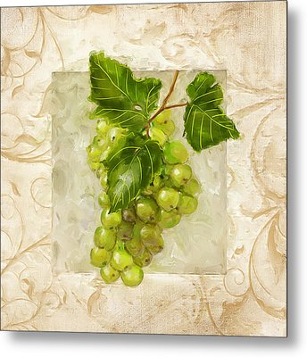 Riesling II Metal Print by Lourry Legarde
