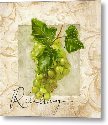 Riesling Metal Print by Lourry Legarde