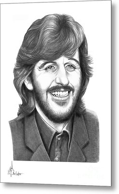 Ringo Metal Print by Murphy Elliott