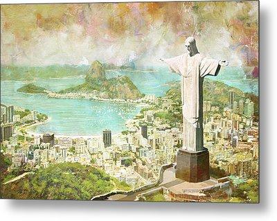 Rio De Janeiro Metal Print by Catf