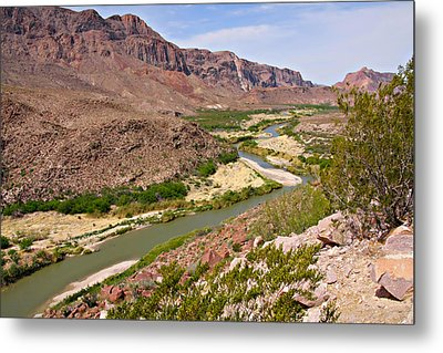 Rio Grande Metal Print by Christine Till