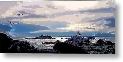 Rising Tide Metal Print by Bill Caldwell -        ABeautifulSky Photography