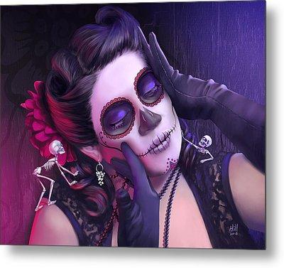 Rita Metal Print by Kevin Hill