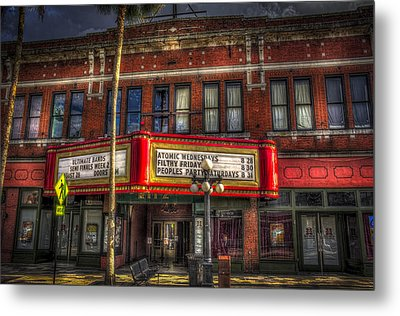 Ritz Ybor Theater Metal Print by Marvin Spates