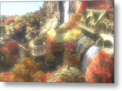 Rivendell Metal Print by Cynthia Decker