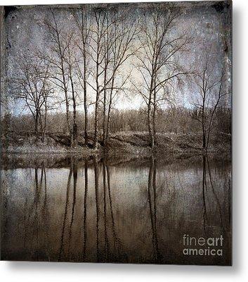 River Metal Print by Bernard Jaubert
