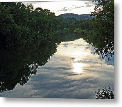 River Of Clouds Metal Print by Jean Hall