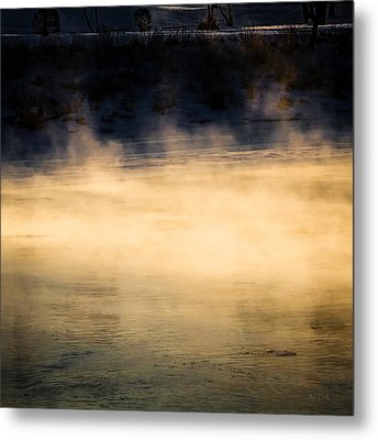 River Smoke Metal Print by Bob Orsillo
