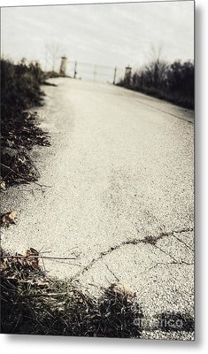 Road Less Traveled Metal Print by Margie Hurwich