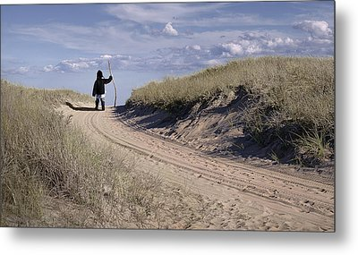 Road To The Future Metal Print by Rick Mosher