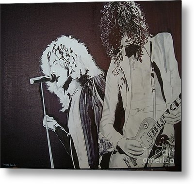 Robert And Jimmy Metal Print by Stuart Engel