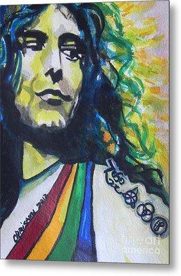 Robert Plant.. Led Zeppelin Metal Print by Chrisann Ellis