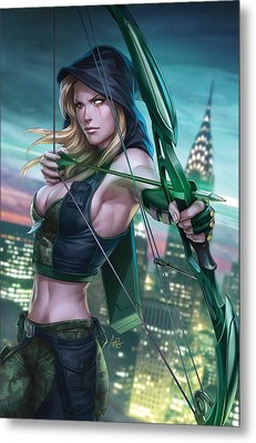 Robyn Hood Wanted 01a Metal Print by Zenescope Entertainment