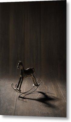 Rocking Horse Metal Print by Amanda Elwell