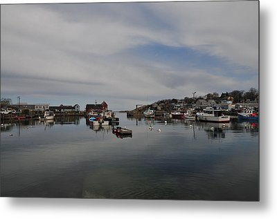 Rockport Harbor Metal Print by Mike Martin