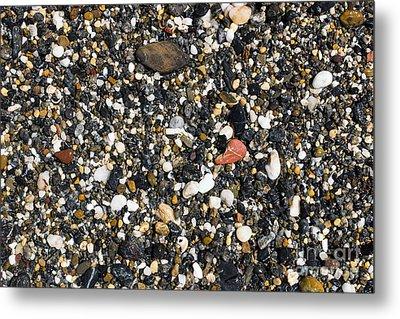 Rocks On The Beach Metal Print by Steven Ralser