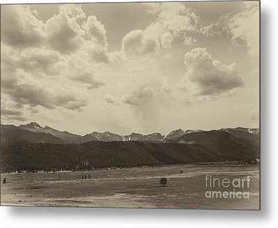 Rocky Mountains Front Range Metal Print by Kay Pickens