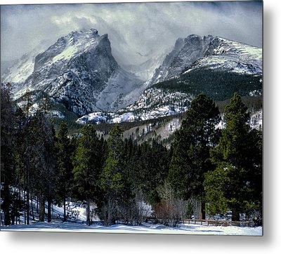 Rocky Mountains Metal Print by Jim Hill