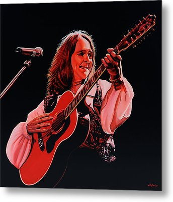 Roger Hodgson Of Supertramp Metal Print by Paul Meijering