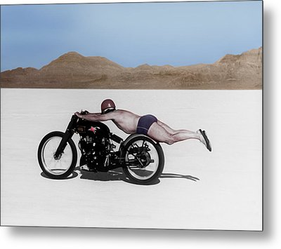 Roland Rollie Free Metal Print by Mark Rogan