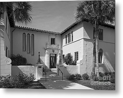 Rollins College Warren Administration Building Metal Print by University Icons