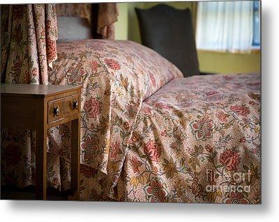 Romantic Bedroom Metal Print by Edward Fielding