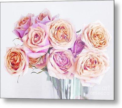 Romantic Bouquet Metal Print by Irina Wardas