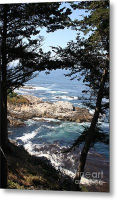 Romantic California Coast Metal Print by Christiane Schulze Art And Photography