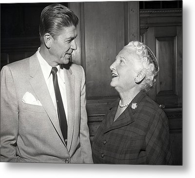 Ronald Reagan Metal Print by Retro Images Archive