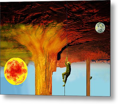 Roof Of The World Metal Print by Bruce Iorio