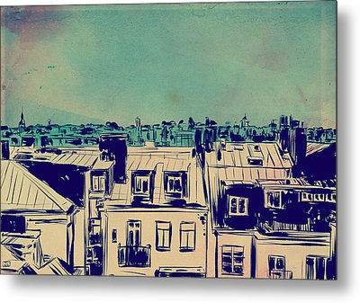 Roofs Metal Print by Giuseppe Cristiano