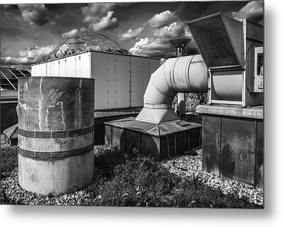Roofscape Metal Print by Arkady Kunysz