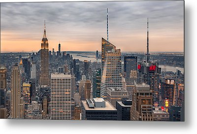 Room With A View Metal Print by Eduard Moldoveanu