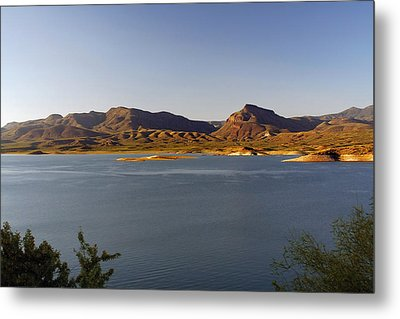 Roosevelt Lake Arizona - The American Southwest Metal Print by Christine Till