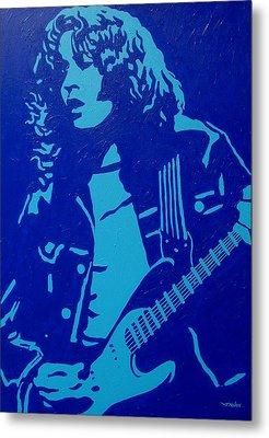 Rory Gallagher Metal Print by John  Nolan