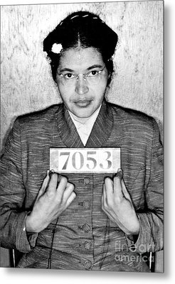 Rosa Parks Metal Print by Unknown