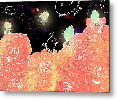 Rose Garden  Metal Print by Yoyo Zhao