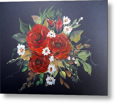 Roses Metal Print by Dorothy Maier