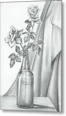 Roses Metal Print by Gayatri Ketharaman