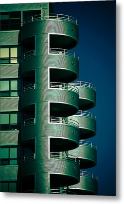 Round And Round Up And Down Metal Print by Christi Kraft