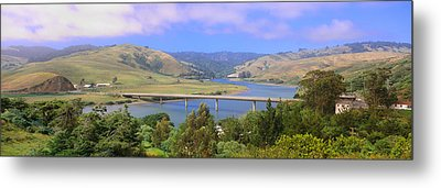 Route 1, Bridge Over Russian River Metal Print by Panoramic Images