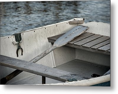 Rowboat Metal Print by Charles Harden