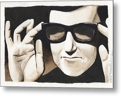 Roy Orbison Metal Print by David Shumate