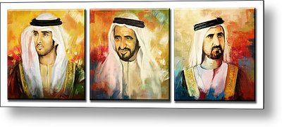Royal Collage Metal Print by Corporate Art Task Force