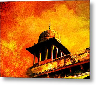 Royal Fort 01 Metal Print by Catf