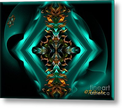 Royalty - Abstract Art By Giada Rossi Metal Print by Giada Rossi