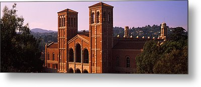 Royce Hall At The Campus Of University Metal Print by Panoramic Images