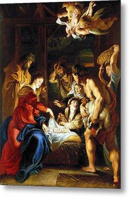 Rubens Adoration Metal Print by Granger