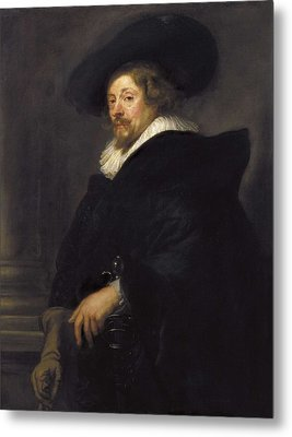 Rubens, Peter Paul 1577-1640 Metal Print by Everett