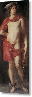Rubens, Peter Paul 1577-1640. Mercury Metal Print by Everett